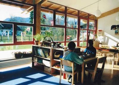 Zweigruppiger Kindergarten in Arzbach; Bauherr: Gemeinde Wackersberg