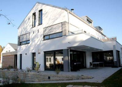 Neubau von vier Doppelhaushälften in Söcking bei Starnberg; Bauherr: SAB GmbH . Scharl Architektur Baugruppe