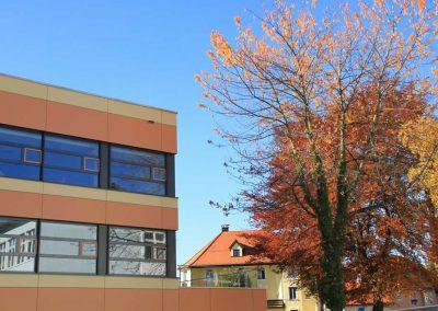 Generalsanierung des Fachklassentraktes mit Aula und Lehrbereich im Gabriel-von-Seidel-Gymnasium in Bad Tölz; Bauherr: Stadt Bad Tölz