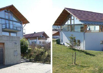 Einfamilienhaus in Degerndorf; Bauherr: Privat