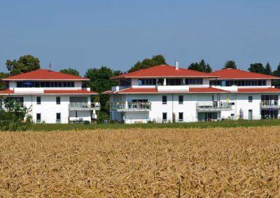 Seniorengerechtes Wohnen in Schäftlarn; Bauherr: Hausbau Isartal GmbH mit Unterstützung der Gemeinde Schäftlarn