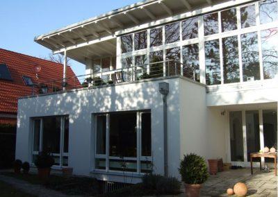 Energetische Sanierung eines Einfamilienhauses in München; Bauherr: Privat