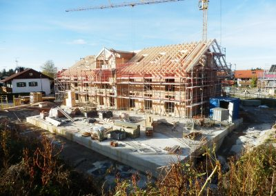Neubau eines Mehrfamilienhauses in Königsdorf