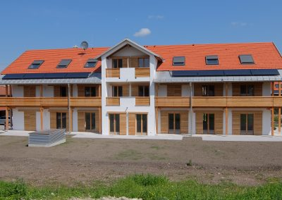 Neubau eines Mehrfamilienhauses mit Tiefgarage in Königsdorf