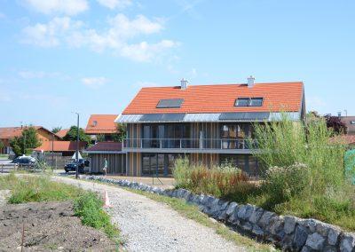 Neubau eines Doppelhauses in Holzbauweise, Königsdorf