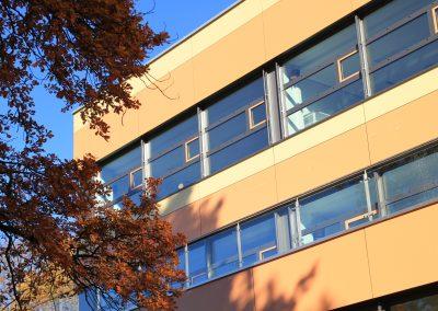 Generalsanierung des Fachklassentraktes mit Aula und Lehrerbereich im Gabriel-von-Seidel-Gymnasium in Bad Tölz; Bauherr: Stadt Bad Tölz