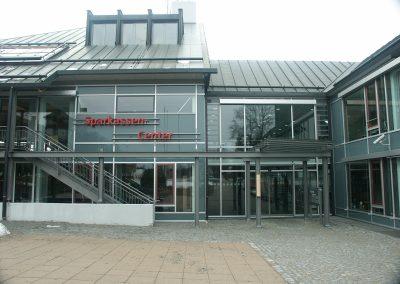 Nutzungsänderung und Generalsanierung des Sparkassen-Centers in Bad Tölz; Bauherr: Sparkasse Bad Tölz-Wolfratshausen