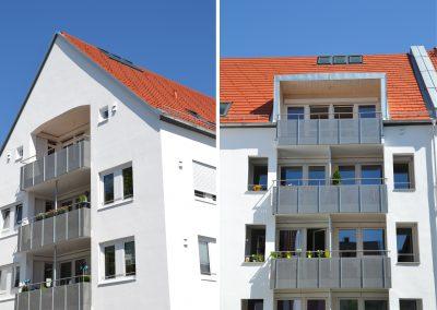 Neubau eines Mehrfamilienhauses mit 22 Wohnungen und einer Tiefgarage in der Altstadt in Weilheim