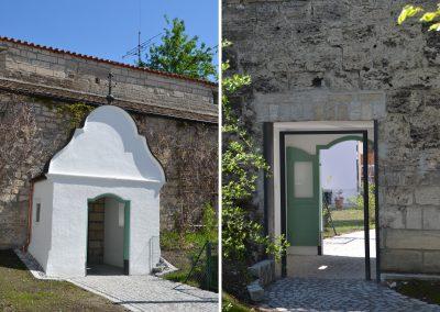 Wiederherstellung und Sanierung des Stadtmauerdurchgangs in Weilheim